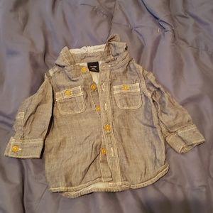 Baby GAP sz 18-24mo long sleeve button down shirt